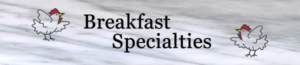 Breakfast Speciaties Banner.